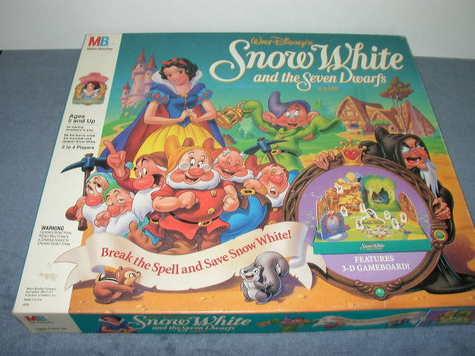 Walt Disney's Snow White and the Seven Dwarfs Game