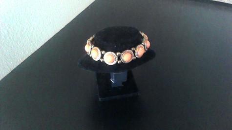 coral vintage bracelet