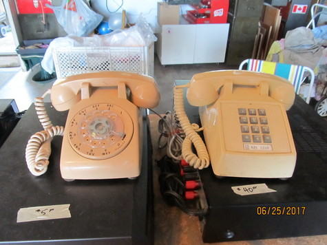 old style dial phones
