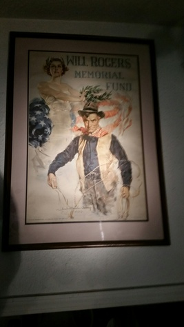 WILL ROGERS MEMORIAL FUND POSTER