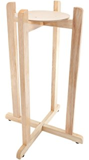 Natural Wood Floor Stand 27""