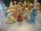 16-1960s-Avon-Girl-And-Women-Statue-Perfume-Containers-Very-Nic