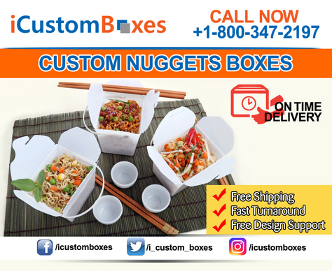 Custom Nuggets Boxes Wholesale Canada