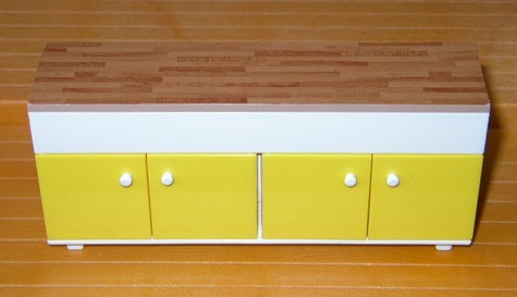 Tomy Kitchen Counter & Cabinets