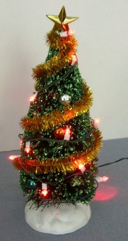 Lemax, Light-Up, Decorated Christmas Tree