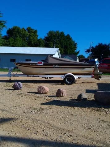 1986 outboard Sylvan fish & ski