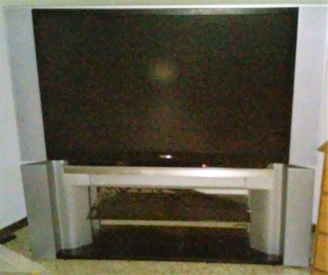 "52"" Toshiba TV with Base and Remote"