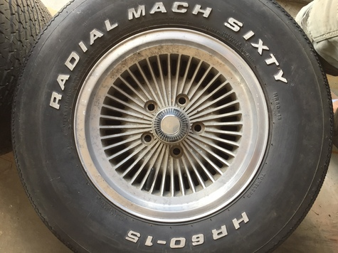 4 rims 5 tires