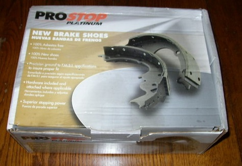 Pro Stop Platinum New Brake Shoes