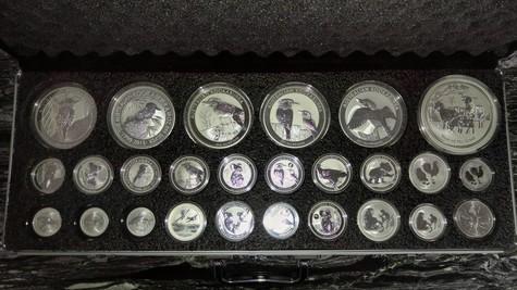Australian Perth mint coins