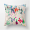 """Monet Water Color Inspired 20"""" by 20"""" Pillow Cover"""