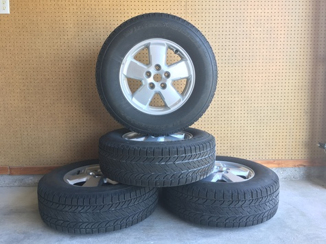 BF Goodrich Slalom Winter Tires