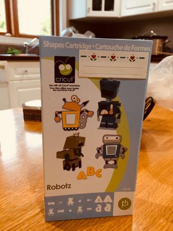 Cricut Cartridge- Robots
