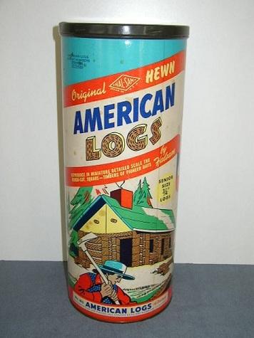 Original Hewn American Logs