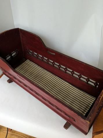 Vintage Doll Cradle