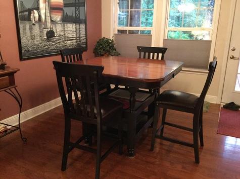 Beautiful mango wood dining set