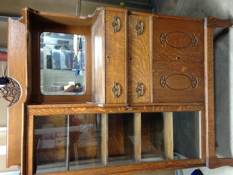 Antique China Cabinet/Secretary