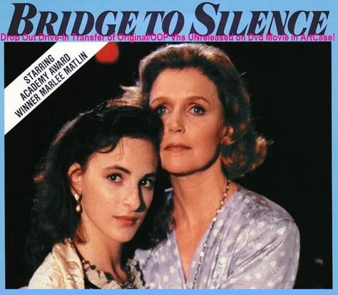 Bridge to Silence (1989) Vhs Tv Movie transfer to DVD-R