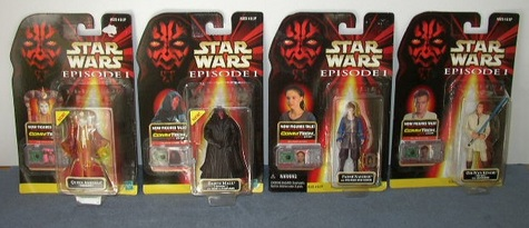 Episode 1 Star Wars Talking Figurines - Collection 1