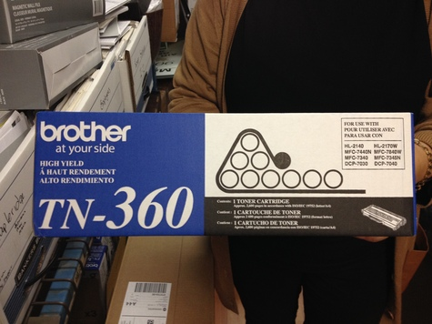 Brand-new/Unopened Brother TN-360 toners