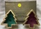 Christmas Tree Candle Set