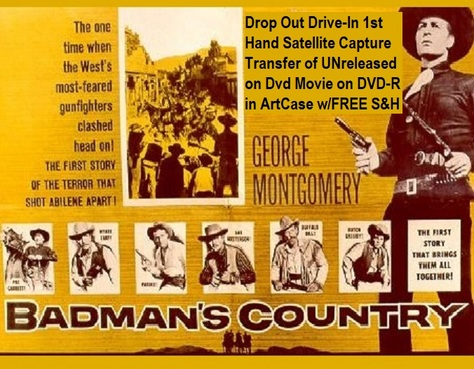 """Badman's Country"" (1958)(DVD-R)"