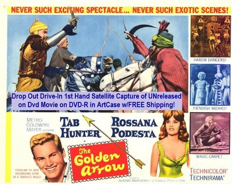 """The Golden Arrow"" (1961)(DVD-R)"