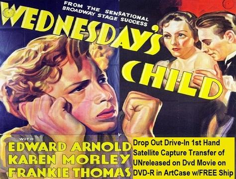 """Wednesday's Child"" (1939)(DVD-R)"
