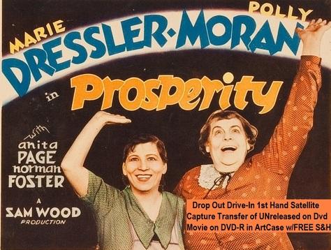 """""""Prosperity"""" (1932)(DVD-R)"""