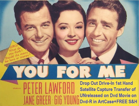 """You For Me"" (1952)(DVD-R)"