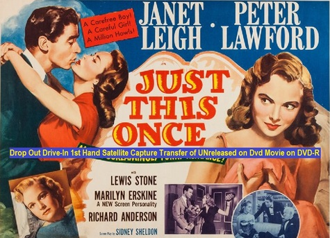 """Just This Once"" (1952)(DVD-R)"