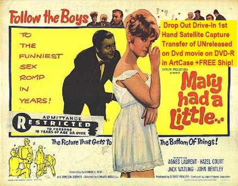 """Mary Had a Little..."" (1961)(DVD-R)"