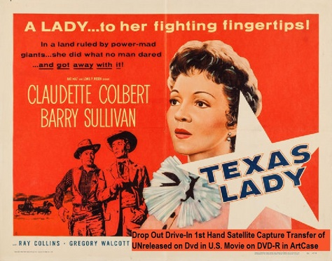 """Texas Lady"" (1955)(DVD-R)"