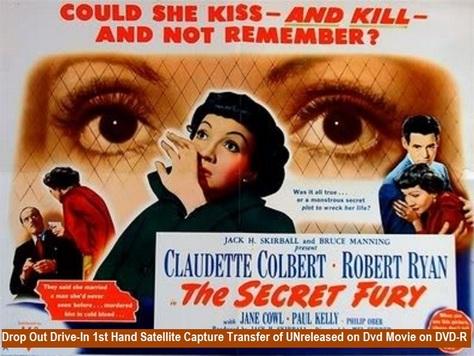 """The Secret Fury"" (1950)(DVD-R)"