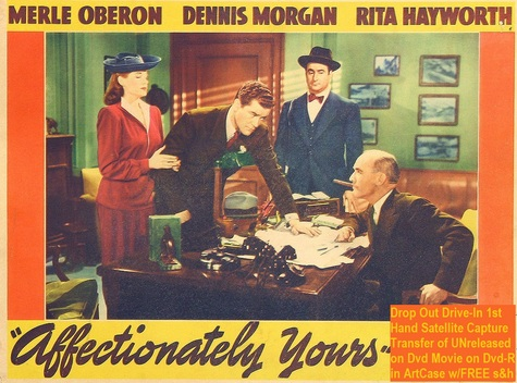 """Affectionately Yours"" (1941)(DVD-R)"