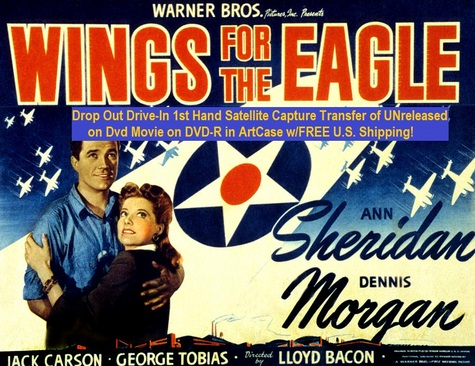 """""""Wings For the Eagle"""" (1942)(DVD-R)"""