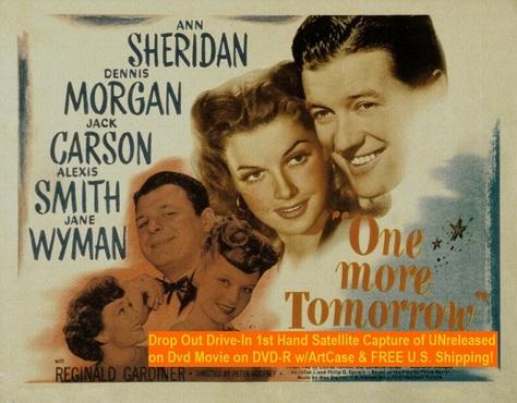 """One More Tomorrow"" (1946)(DVD-R)"