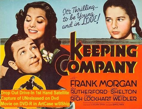 """Keeping Company"" (1940)(DVD-R)"