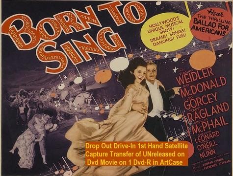"""Born to Sing"" (1942)(DVD-R)"