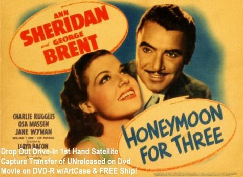 """Honeymoon for Three"" (1941)(DVD-R)"