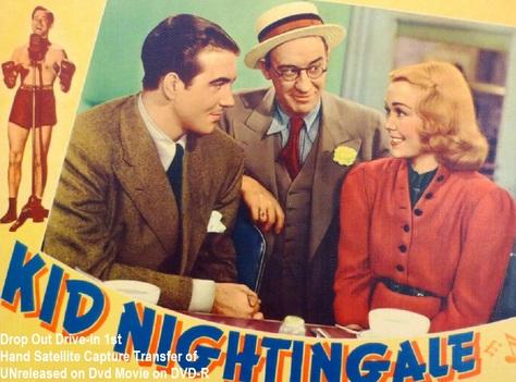 """""""Kid Nightingale"""" (1939)(DVD-R)"""
