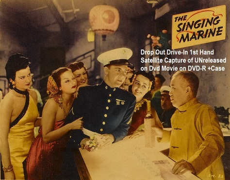 """The Singing Marine"" (1937)(DVD-R)"