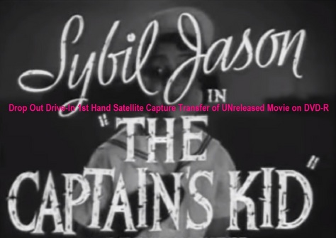 """The Captain's Kid"" (1936)(DVD-R)"