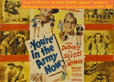 """You're in the Army Now"" (1941)(DVD-R)"