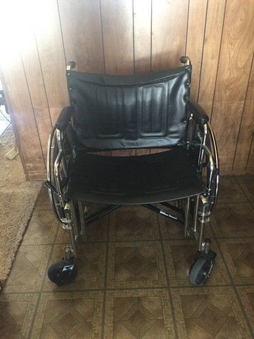 XXX Wide Wheel Chair