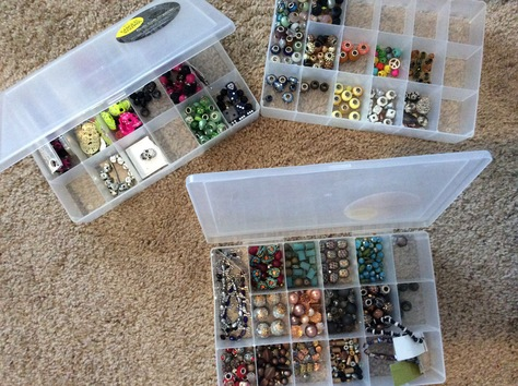 Hudrds of beads