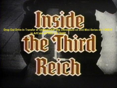 """""""Inside the Third Reich"""" (1982)(1 DVD-R)"""