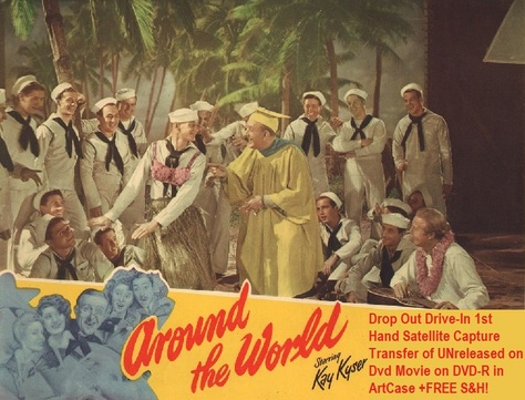 """""""Around the World"""" (1946)(DVD-R)"""