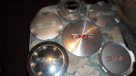 GMC  CENTER CAPS---only $ 10 each