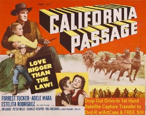 """California Passage"" (1950)(DVD-R)"
